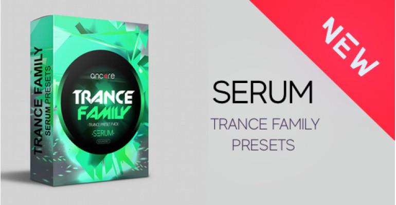 Serum Trance family Presets