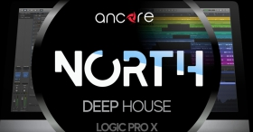 NORTH Deep House Logic Pro Template