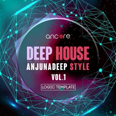 Deep House Logic Pro Template (Anjunadeep Style) Vol.1