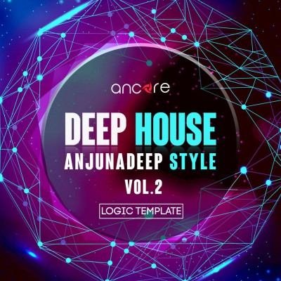 Deep House Logic Pro Template (Anjunadeep Style) Vol.2