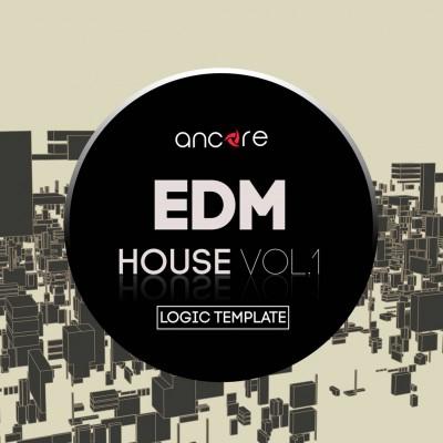 EDM House Logic Pro Template Vol.1 (Protocol Records Style)
