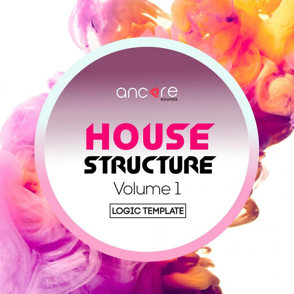 House Structure Logic Pro Template Vol.1