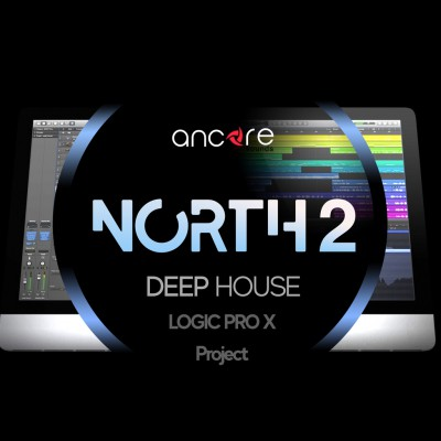 NORTH 2 Deep House Logic Pro Template