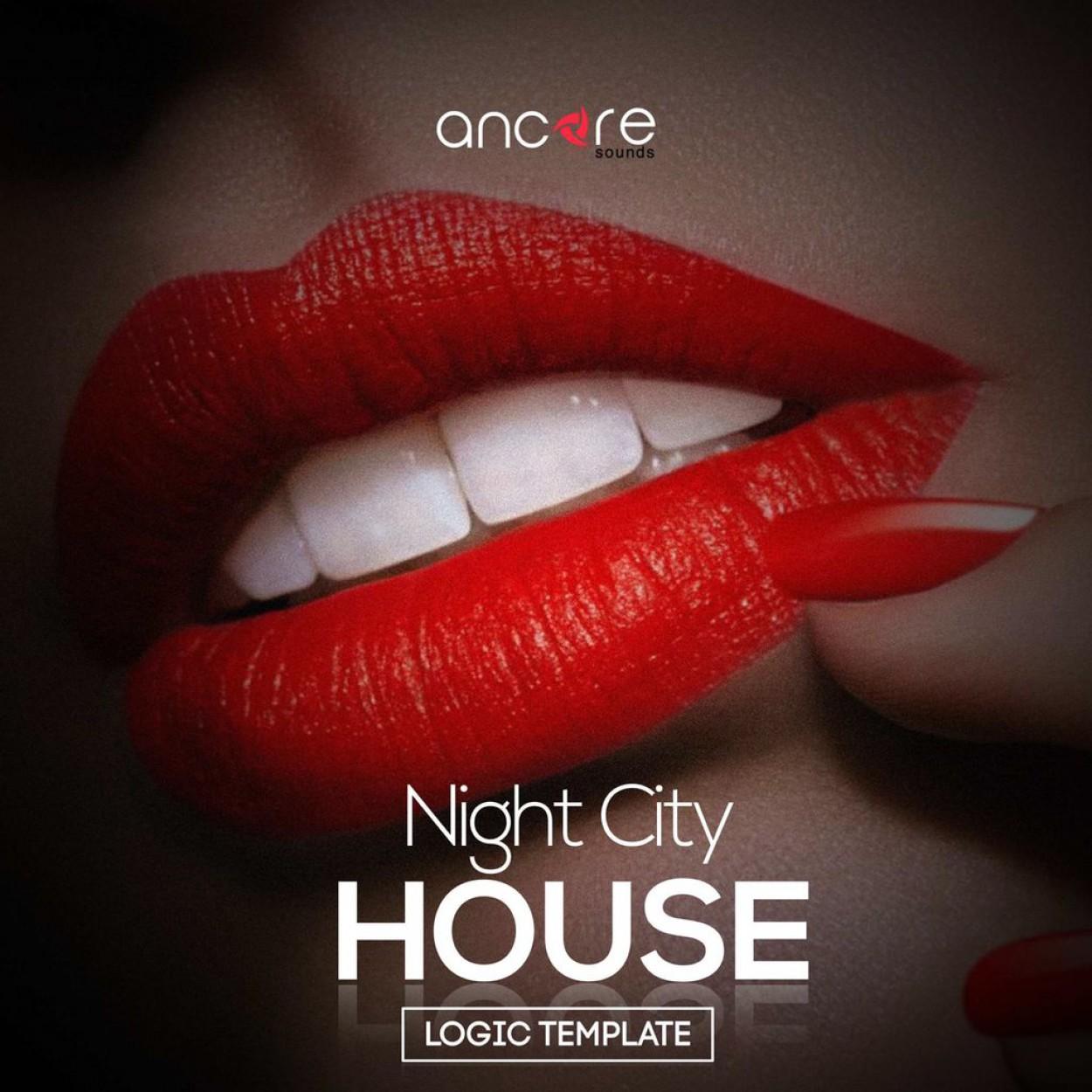 Night City House Logic Pro Template