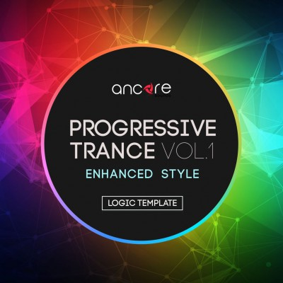 Progressive Trance 2.0 Logic Pro Template (Enhanced Style) Vol.1
