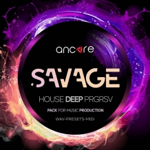 SAVAGE Deep House Producer Pack