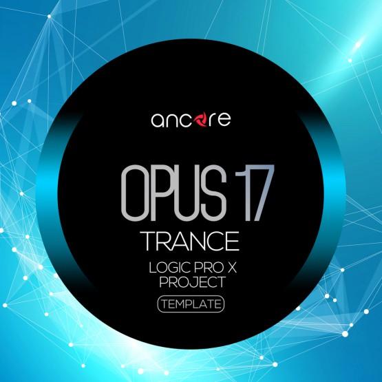 Opus 17 Trance Logic Pro X Template